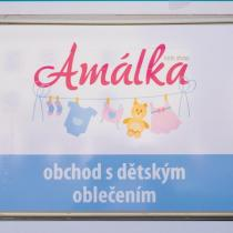 Amálka - označení provozovny