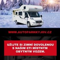 Autopark Kyjov - návrh cedule
