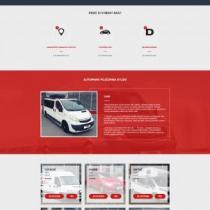 Autopark půjčovna - webové stránky