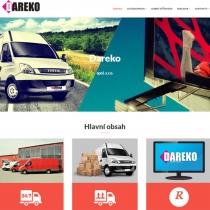Dareko - webové stránky