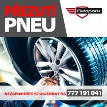 Autopark Kyjov - reklama na pneuservis