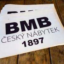 BMB samolepky