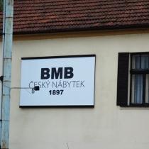 BMB nábytek - cedule
