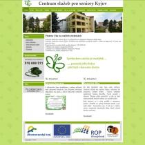 Centrum pro seniory Kyjov - web