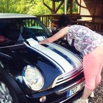 Mini Cooper - polep automobilu