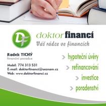 Doktor financí - letáček