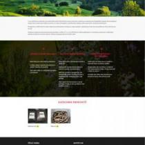 Žížalí farma - webové stránky s eshopem