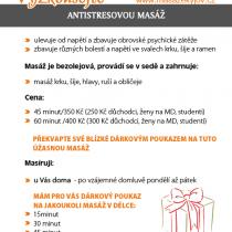 Masáže Kyjov - letáky