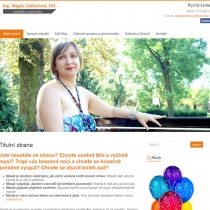 Masáže Kyjov - webové stránky