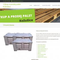 Výkup a prodej palet Kožušice - web