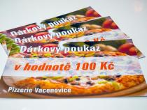 Pizzerie Vacenovice - Dárkový poukaz