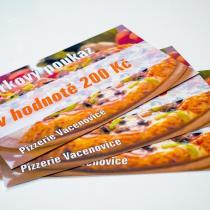 Pizzerie Vacenovice - Dárkový poukaz 200 Kč