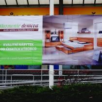 Harmonie domova Zlín - PVC banner