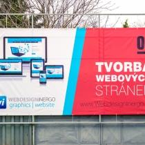 Webdesign Inergo - PVC banner