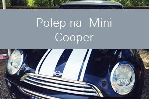 Polep Mini Cooper - Webdesign Inergo