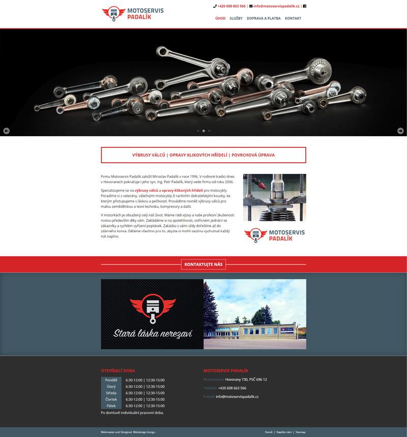 Motoservis Padalík - web