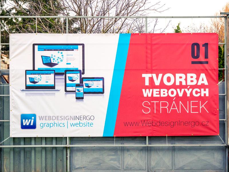 Webdesign - PVC banner